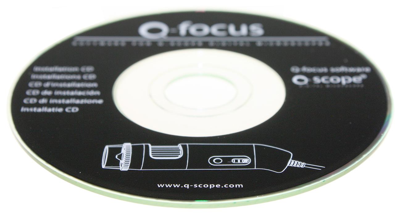 Q-focus, Software - Q-scope